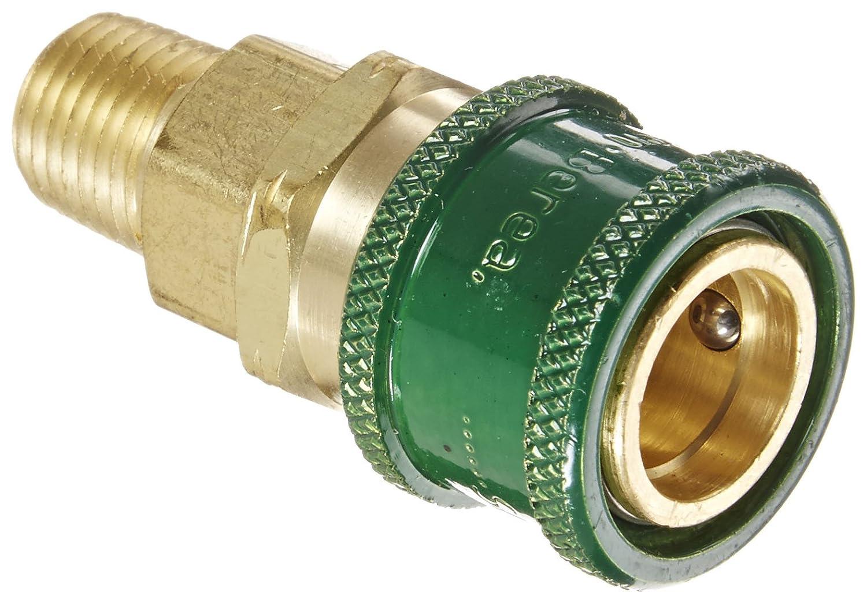 3//8 Body Size x 1//4 NPT Male Eaton Hansen 410 Brass 1000//400//500 Series Industrial Interchange Coupler Socket