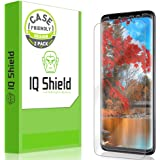Galaxy S9 Screen Protector [2-Pack], IQ Shield LiQuidSkin Bubble-Free [Case-Friendly] Screen Protector for Galaxy S9 HD Clear Film