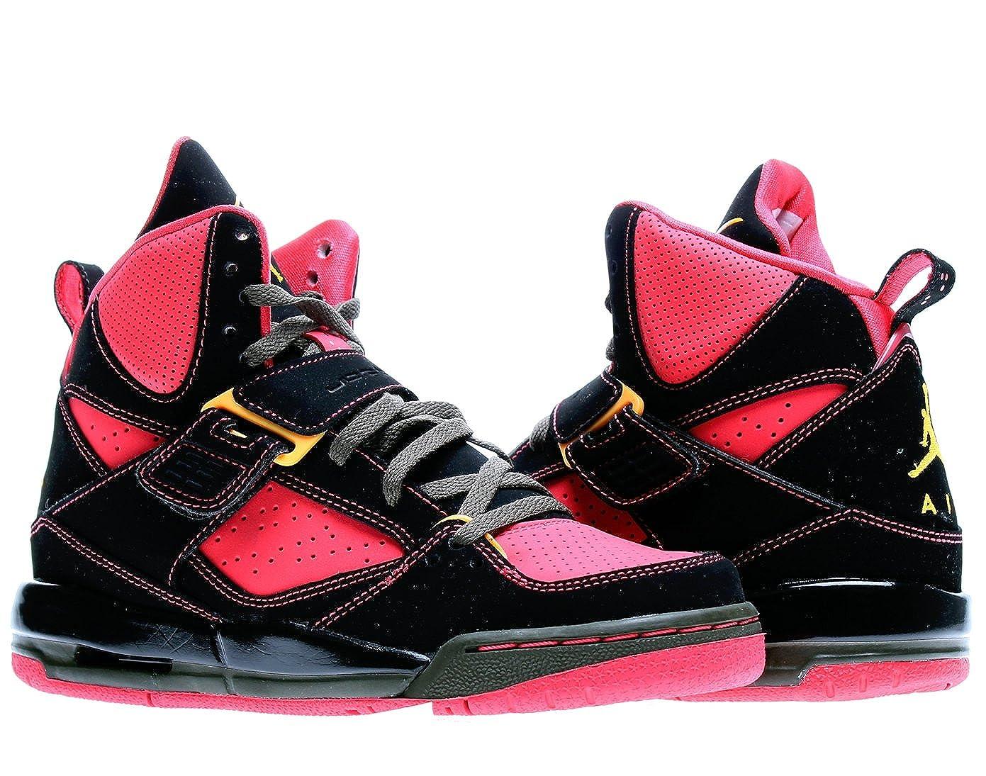 nouveau produit f79c8 2fa49 Amazon.com | Nike Air Jordan Flight 45 High (GS) Girls ...
