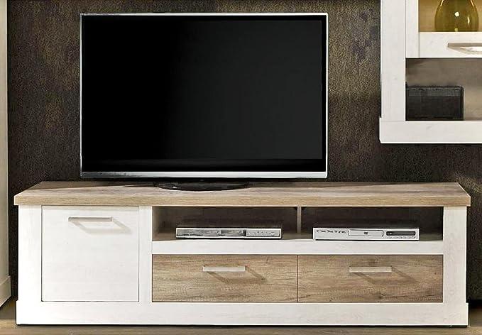 Mueble para televisor duro TV-tabla de 2 de los cajones y los ...