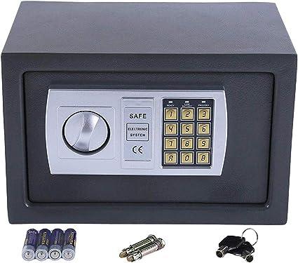 Tenzo-R 33921 - Caja fuerte con cerradura de combinación (31 x 20 ...