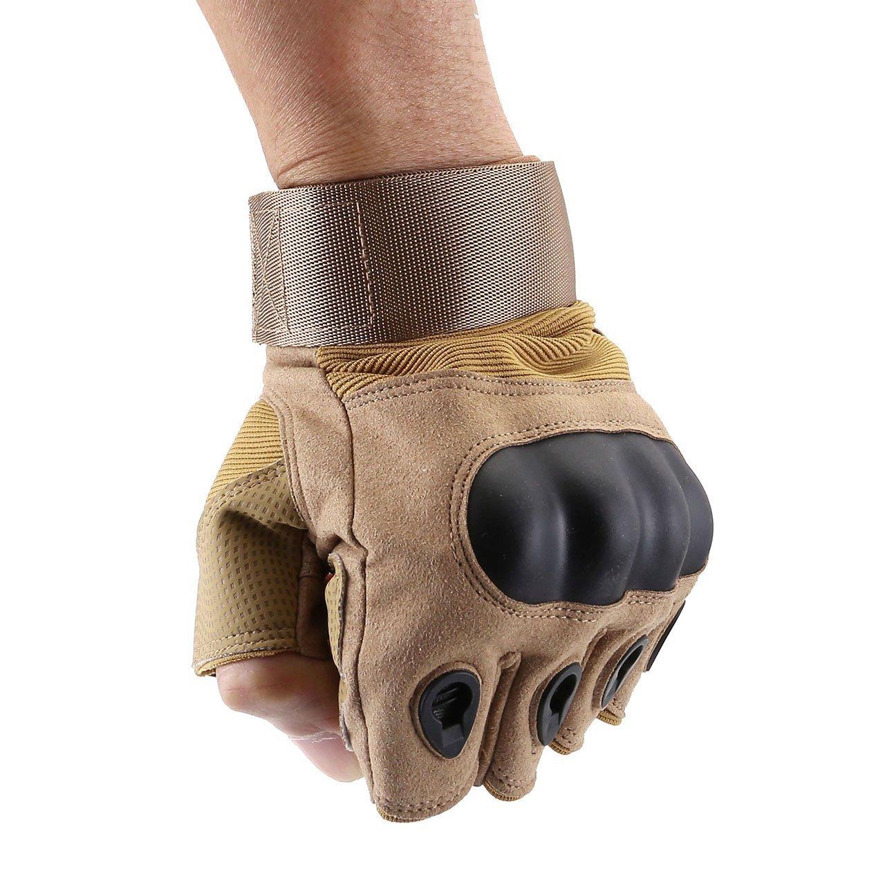 Voller Finger Army gr/ün, M Graceme Handschuhe Motorradhandschuhe f/ür MTB Mountainbike Motorrad Motocross Quad Paintball Airsoft Security Tactical Milit/är KTM Fahrrad Rad Herren Damen Touchscreen