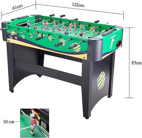 CO-Z Futbolín Mesa del Fútbol Juego de Mesa Divertido Deportes Recreativos Futbolín para Adultos/ Niños 122cm / 48 MDF (Verde): Amazon.es: Juguetes y juegos