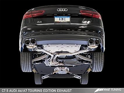 Amazon com: AWE Tuning 3015-42072 Audi C7 5 A6 3 0T Touring Edition