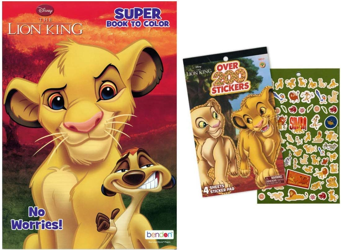 Lion King 2 Movie Birthday Party Supplies FAVOR COMBO PACK-GLASSES,TATTOO /& MORE