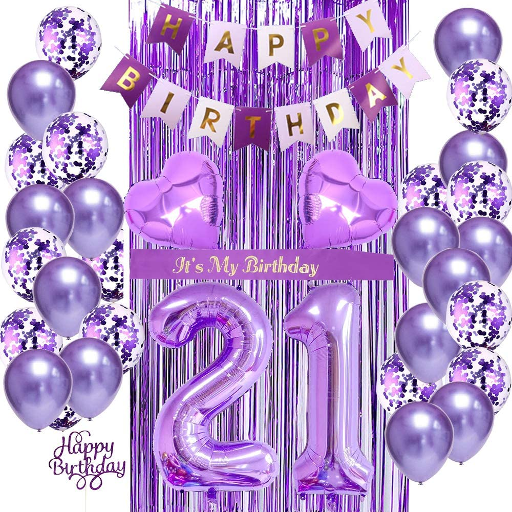 Pin By Tonia On Air Balloons 21st Birthday Balloons 21st Party Decorations 21st Birthday Girl