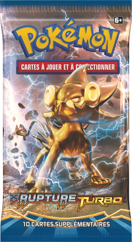 Pokèmon - Booster Rupture Turbo - Modele Aleatoire - 0820650208492: Amazon.es: Juguetes y juegos