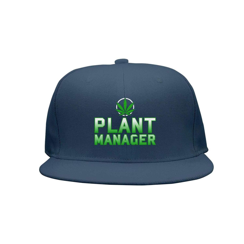 TylerLiu Baseball Cap Marijuana Weed Pot Plant Manager Snapbacks Truker Hats Unisex Adjustable Fashion Cap