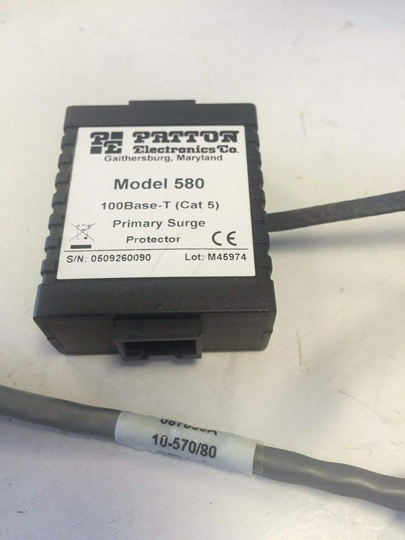 Patton Electronics Co 570//580 ethernet surge protector