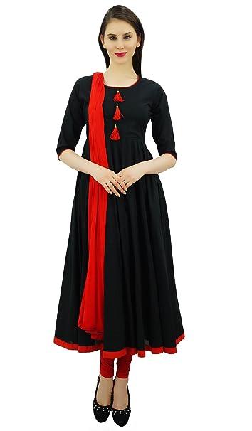 Amazon.com: Atasi traje Salwar Anarkali para mujer étnico de ...