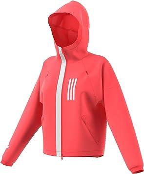 adidas Wind Trainingsjacke-Rot, Weiß Chaquetas, Mujer, Rojo ...