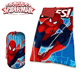 MV16576 Saco de dormir manta Inviernal Spiderman para niños.