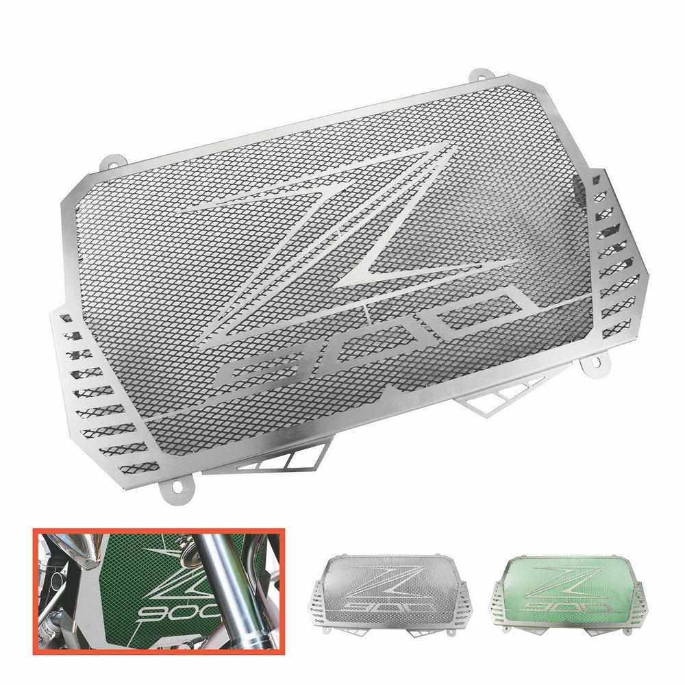 Heinmo Motocicleta Nuevo CNC Protector de la cubierta de la parrilla del protector del radiador de aluminio apto para KAWASAKI Z900 2017 Protectores de radiador Heinmo Plus