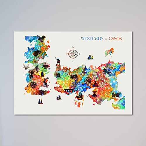 Game Of Thrones Map Essos on
