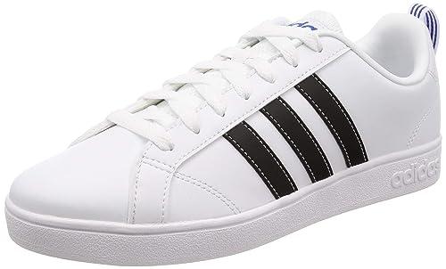 6e7f0aa943a Adidas Tenis Casuales para Hombre simipiel Blanco con Azul R239295-1 28