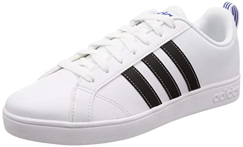 best loved f88ee 395eb Adidas Mens Vs Advantage Ftwwht, Cblack, Blue Tennis Shoes-6 UKIndia