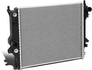 DNA MOTORING OEM-RA-13148 13148 Factory Style Aluminum Cooling Radiator Replacement For 03-08 S-TYPE AT, Black/Metallic
