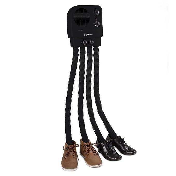 oneConcept Choobidoo séchoir à chaussures • radiateur pour chaussures • chauffe-chaussures • séchoir à bottes • 350 W • pour 2 paires • 4 flexibles • combat odeur