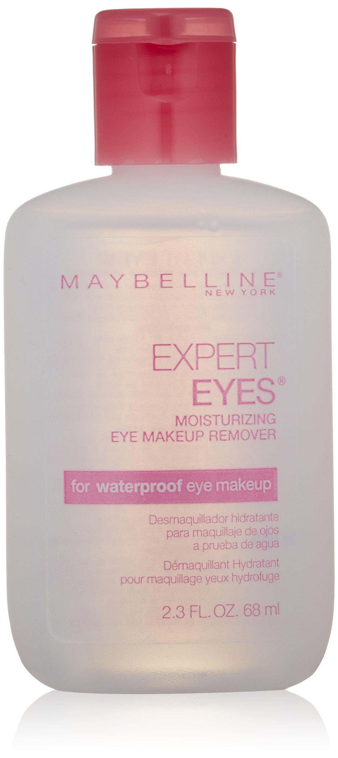 Maybelline Expert Eyes Moisturizing Eye Makeup Remover, For Waterproof Eye Makeup, 2.3 fl. oz.