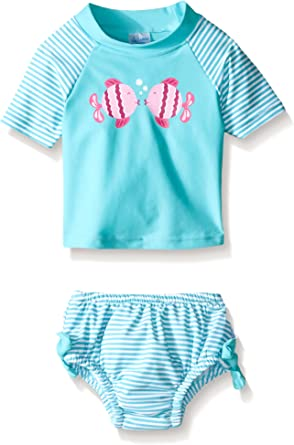i play by green sprouts Girls Rashguard