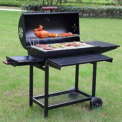 L&Y Parrilla para Asados BBQ para Nuestro Campamento (Grande) Fumador para Exteriores