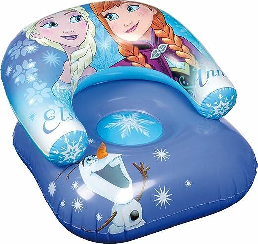 Disney, Frozen 89963-s Asiento de Playa Hinchable, PVC, Azul ...