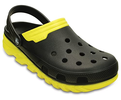 Buy crocs Unisex Duet Max Black/Yellow