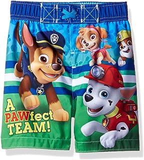 19a8ce5317 Amazon.com  Nickelodeon Paw Patrol Boys Swim Trunk