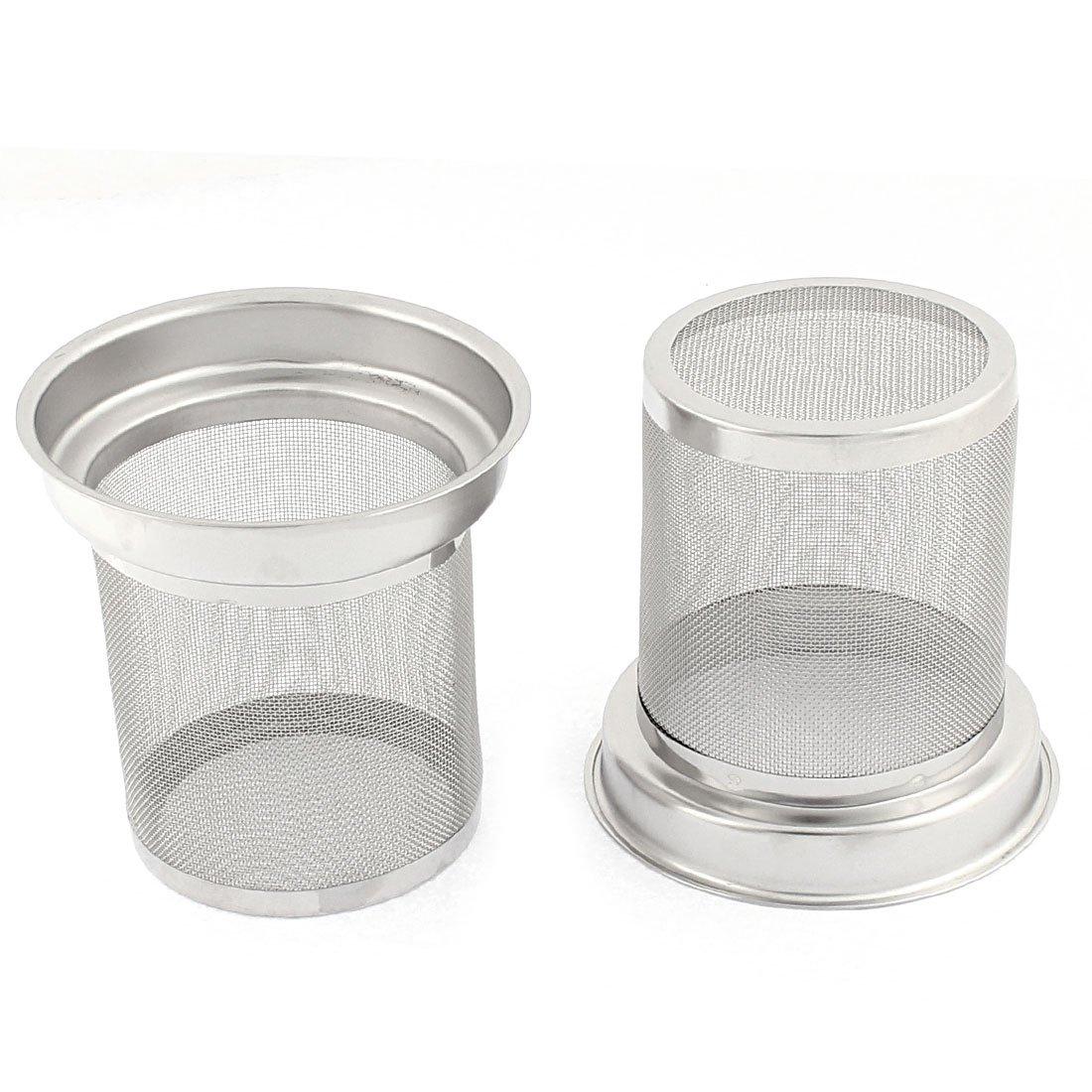 sourcingmap® Épices feuille thé en INOX Filtre Infuseur Net 2PCS