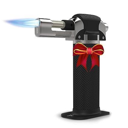 amazon com culinary butane torch professional quality for home rh amazon com