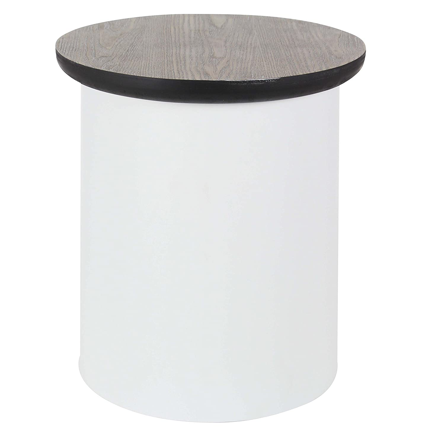 Deco 79 Metal and Wood Table, 18