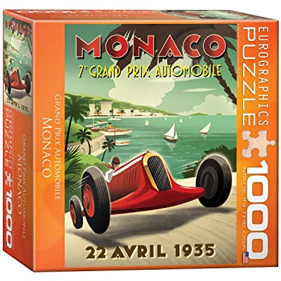 Monaco Grand Prix Puzzle, 1000-Piece: Toys & Games