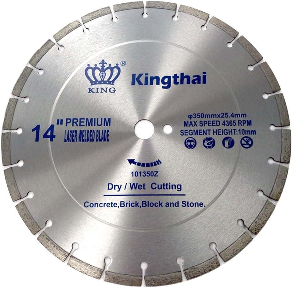Kingthai 7 Boomerang Diamond Grinding Cup Wheel for Angle Grinder 7//8-5//8 Arbor