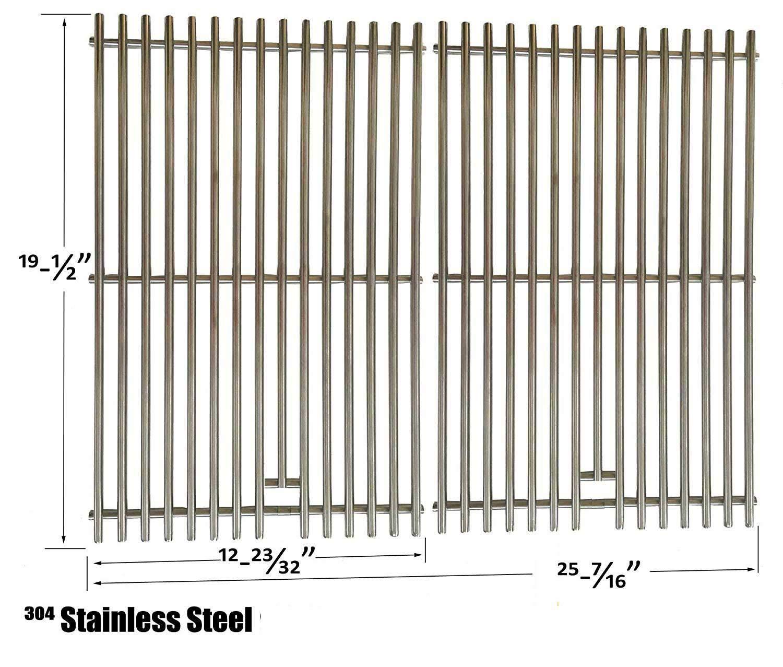 7527-LI Stainless Steel Cooking Grates for Selected Weber Genesis Spirit Models 53812