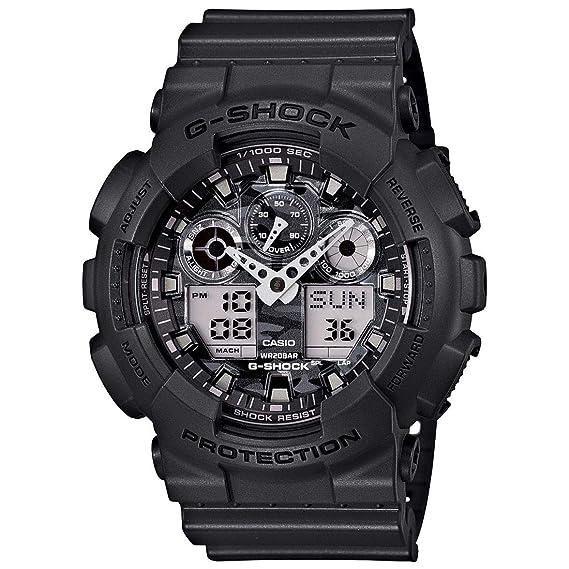 Casio De los hombres G SHOCK Analógico-Digital Deporte Cuarzo Reloj (Modelo de Asia) GA-100CF-8A: Casio: Amazon.es: Relojes