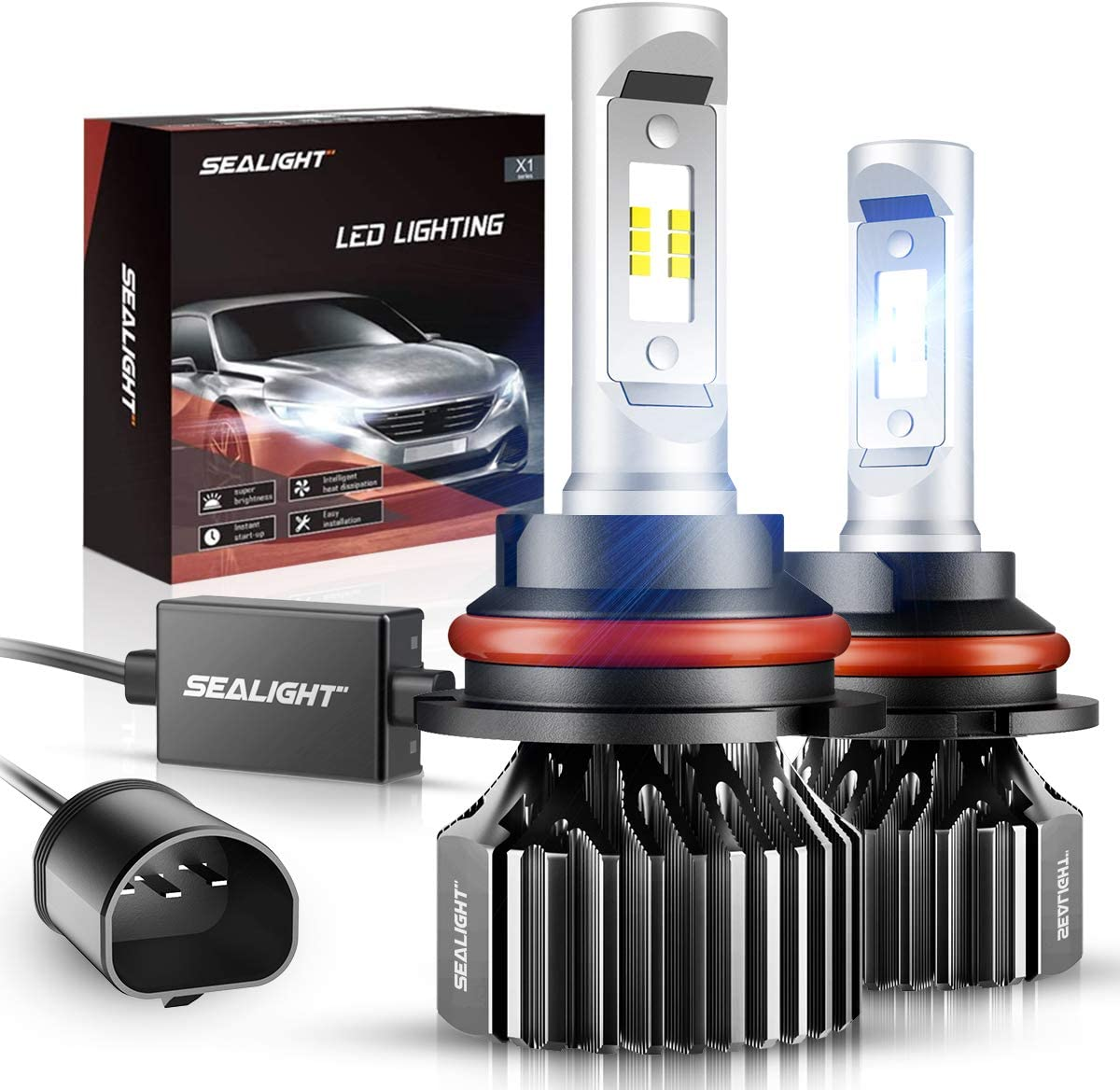 SEALIGHT 9007, HB5 LED Headlight Bulbs