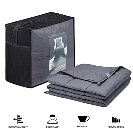 Amazon.com  Weighted Blanket (18 lbs 03927658f