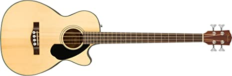 Fender CB-60SCE Bajo eléctrico acústico para principiantes