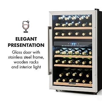 Klarstein Vinamour 40D • Weinkühlschrank • Getränkekühlschrank