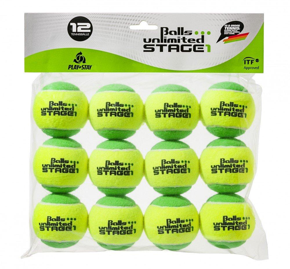Ballons m/éthode unlimited Stage 1 Balles Unlimited Niveau 1 Balls .. Paquet de 12 balles Vert Ballons pour Enfants Ballons dentra/înement 25/% /à Pression r/éduite