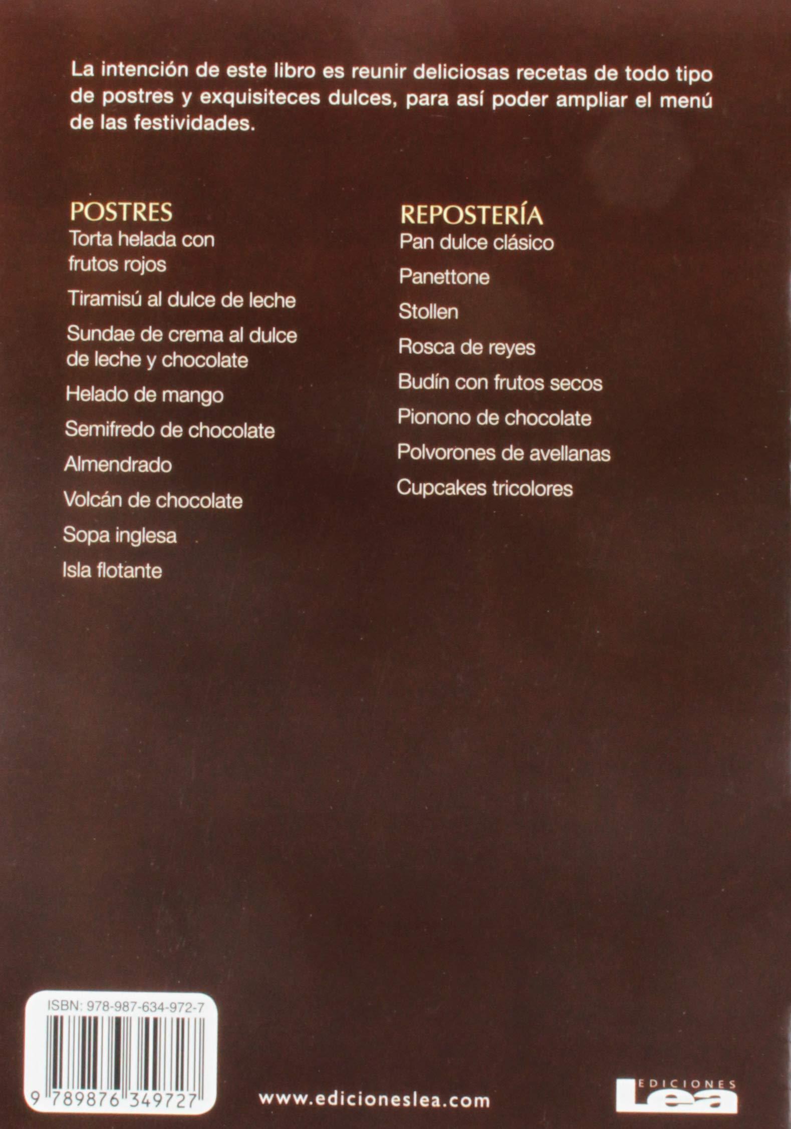 Postres y Reposteria Para Las Fiestas: Amazon.es: Maria Nunez Quesada: Libros