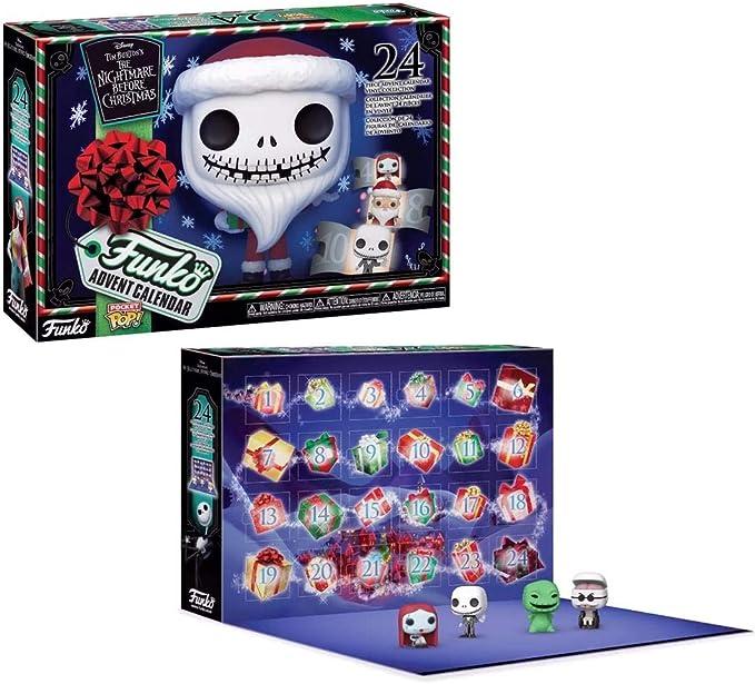 Funko Pop Advent Calendar: The Nightmare Before Christmas, Multicolor (49668)