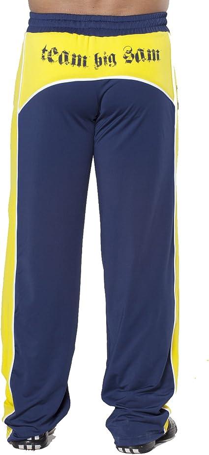 BIG SAM SPORTSWEAR COMPANY Bodybuilding Mens Baggy Track Pants Bodypants 923
