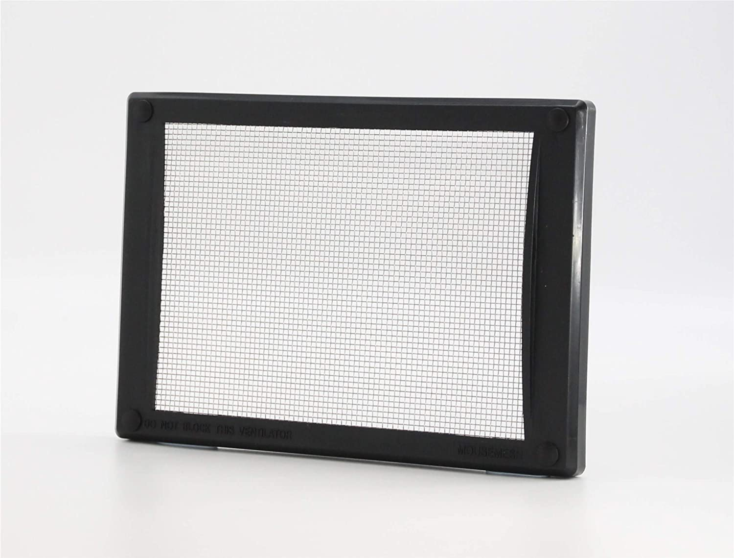 Mousemesh Medium Black Pest Proofing Air Brick Vent Cover MOUSEMESH LTD 00046