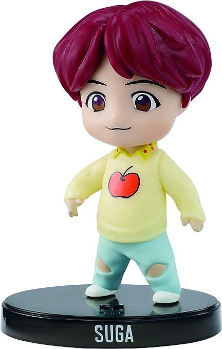 Amazon Com Bts Mini Idol Doll Suga Multicolor 3 Toys Games
