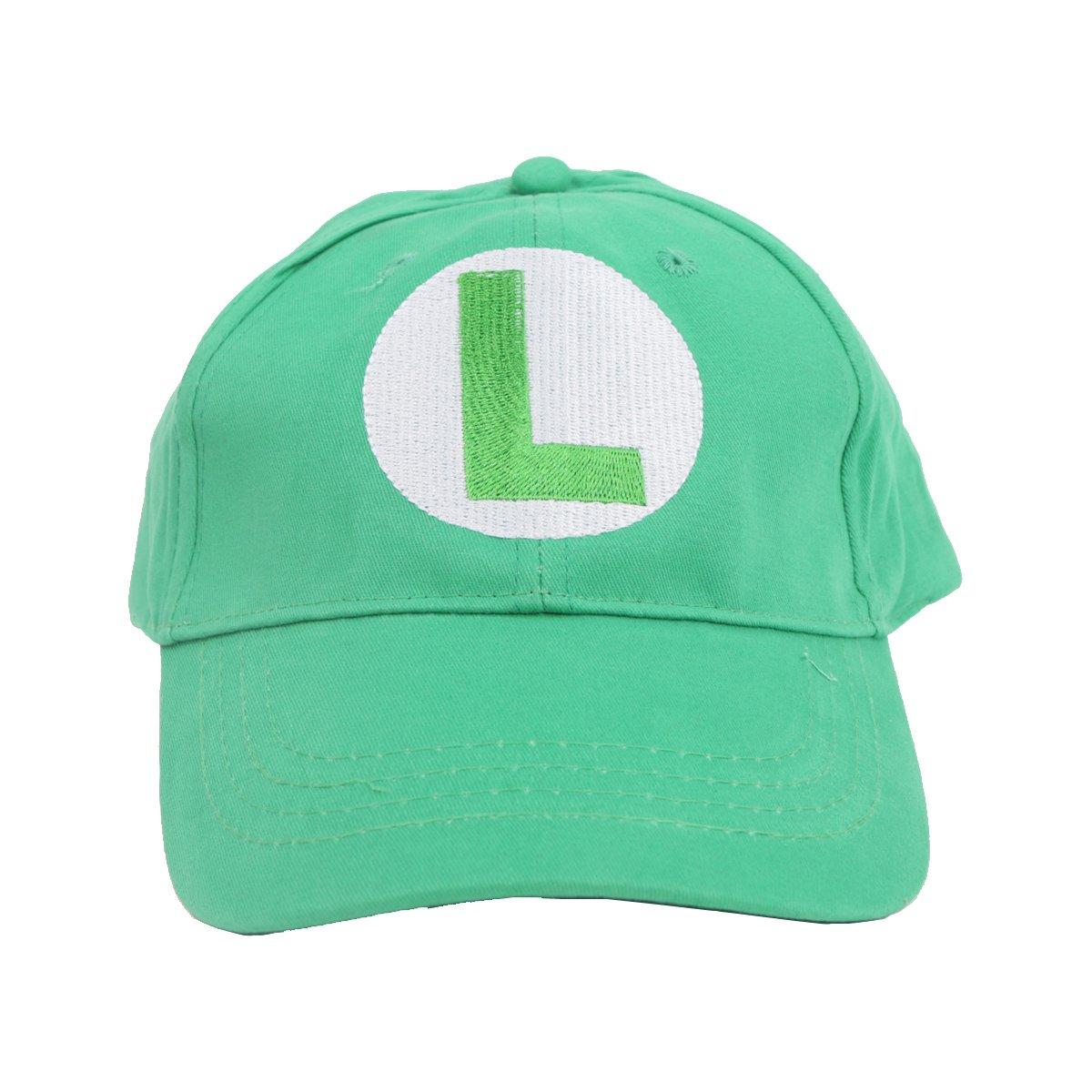 Rouge Mario Bros Chapeau Mario Luigi Baseball Cap Rouge Vert Hat Sports Cosplay Costume Porter Sportswear