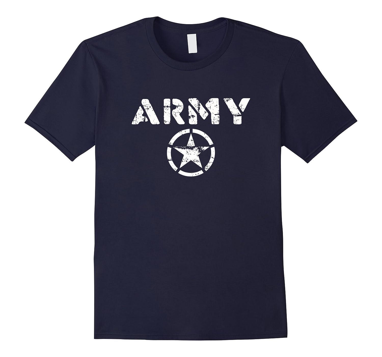 U.S. Army Star Logo Vintage T-Shirt-T-Shirt