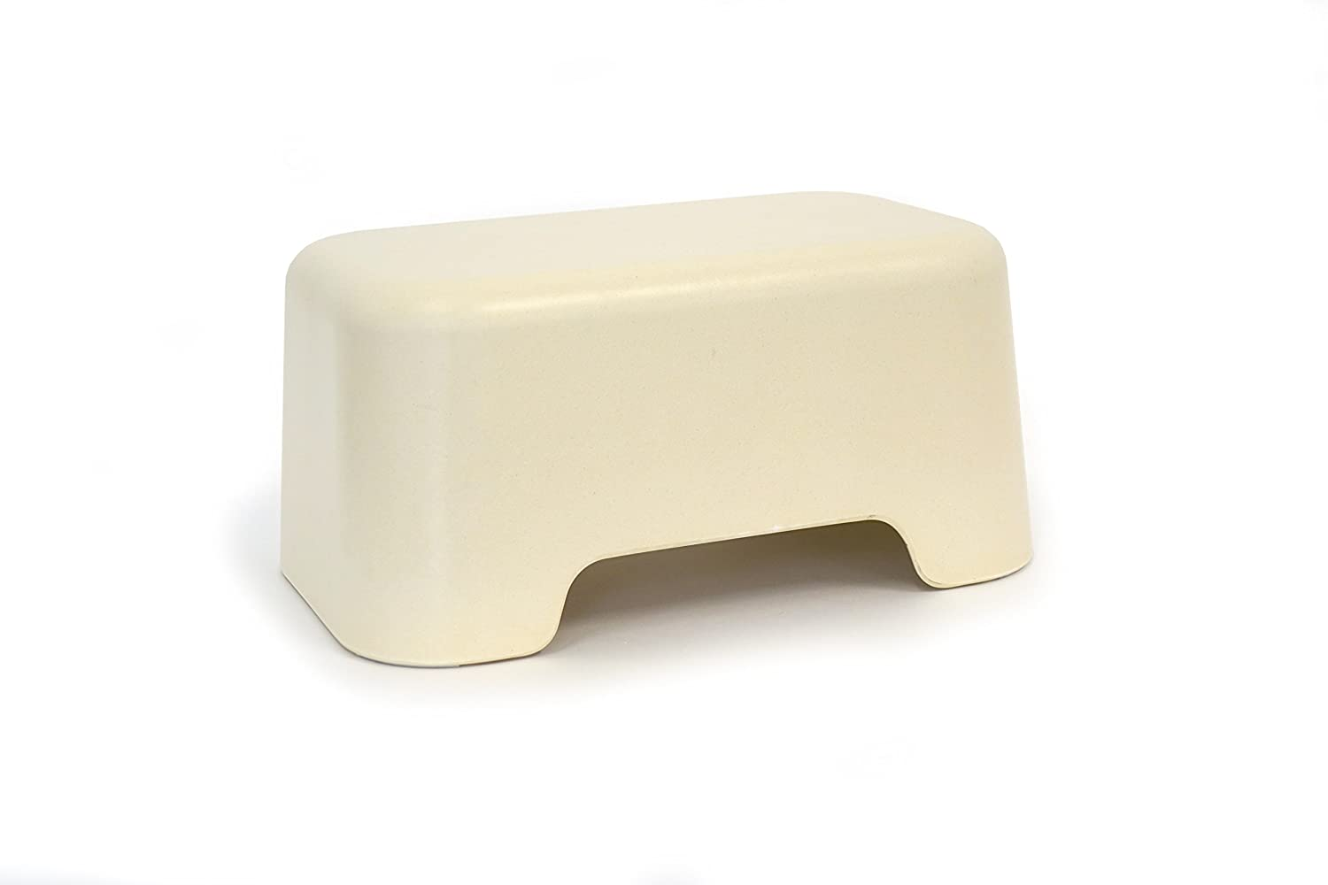 BIOBU by EKOBO 36905 Bano Step Stool White Bano Step Stool