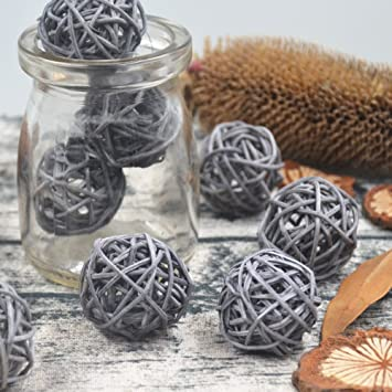 assorted Color 10pcs Wicker Rattan Ball Wedding Christmas Party Hanging Dec Nursery Mobiles 3cm Automobiles & Motorcycles