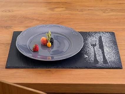 Compra Pizarra de mesa Set, 18 piezas: 6 platos, 6 Pizarra ...